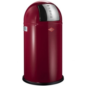 Wesco pushboy 50l robijn rood